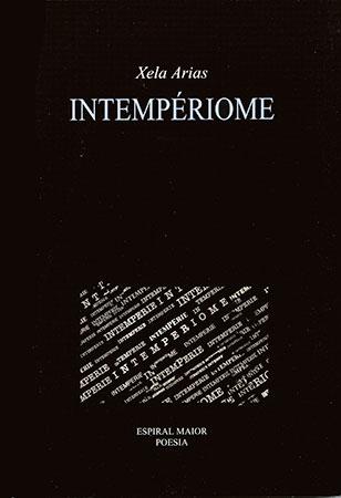 Xela Arias - Portada libro Intempériome
