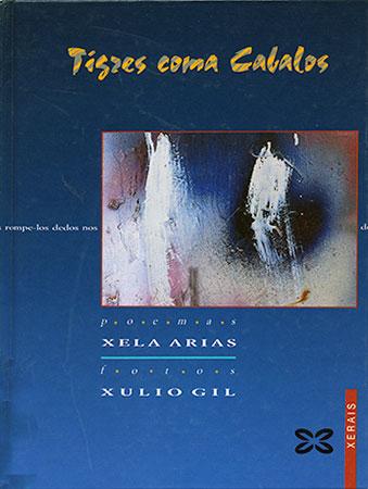 Xela Arias - Portada libro Tigres coma cabalos